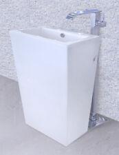 """Bathroom Pedestal Sink - Cesaro II - Modern Bathroom Pedestal Sink Vanity 20"""""""