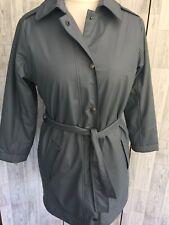 Etage Grey Grey Padded Puffer Raincoat Size 10