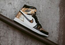 Air Jordan 1 High OG NRG Top 3 Gold Toe Sz 9.5 861428-001 bred black chicago
