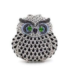 Silver Owl Crystal Clutch (Animal)