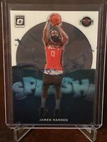 2019 - 2020 Optic James Harden Splash Insert #1 Houston Rockets Mint Condition