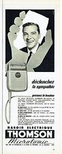 Publicité Advertising  028  1956  rasoir electrique  micromatic Thomson