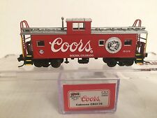 """*** NSC Special Run ATL 09-17 """" Coors """" CABOOSE CB3178 - NEW in box ***"""