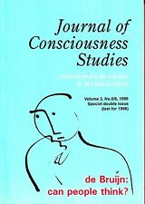 Journal of Consciousness Studies Vol 3 #5/6 1996 de Bruijn Can People Think?