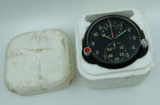 NEW! AChS-1 Russian Soviet USSR Military AirForce Aircraft Cockpit Clock #00658