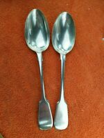 Antique Victorian EPNS Silver Plated Hallmarked Serving Spoons X 2