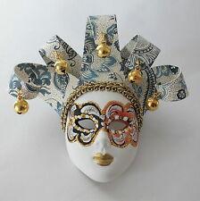 Venezianische Maske mit Aufhängung  Keramik Italien Venedig