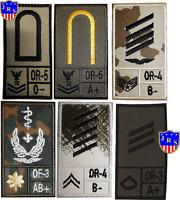 Bundeswehr Dienstgradabzeichen Nato US Einsatzabzeichen Combat Patch ET