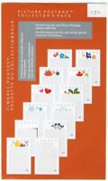 COLLECTOR's pack = Picture Postage DIE CUT set of 12 design= SEALED= Canada 2012