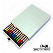 BRUYNZEEL - Haute Qualité & durable - PASTEL CRAYONS - ARTISTE Box 12