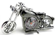 Motorrad UHR  Wecker Tischuhr Alarm Motorrad Form Clock Standuhr NEU
