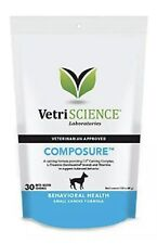 New listing [3 Pack] Composure Mini Bite-Sized Chews 30 Count For Small Dogs