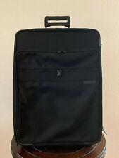 """BRIGGS & RILEY 24"""" Upright Black Nylon Expandable Luggage 05-U24NX Garment Bag"""