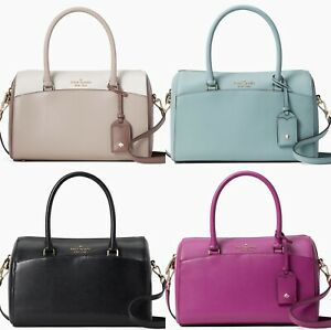 Kate Spade Devyn Medium Satchel Duffle Bag Crossbody Leather