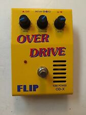 Guyatone FLIP OD-X Over Drive Real Tube Power Works Rare Vintage Guitar Pedal