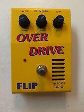 Guyatone FLIP OD-X Over Drive Real Tube Power Works Rare Vintage Guitar Pedal