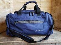 Vintage Eddie Bauer Canvas Duffle Overnight Bag Travel Carry On Duffel