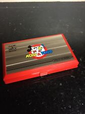 Nintendo Game & Watch Mickey & Donald Handheld Electronic Multi-Screen 1982 MINT