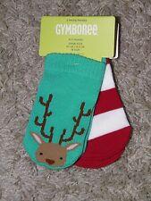Boys Gymboree Holiday Shop 2pr Socks Size 3-6 mos- NEW!
