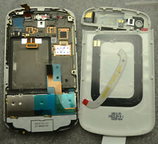 LCD Screen and Digitizer Assembly+Complete White Housing For BB BlackBerry Q10