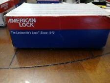 American Lock A5200gln Keyed Padlockdifferent1 34w Lot Of 6 New