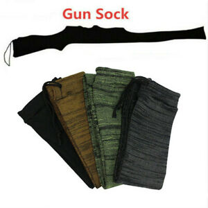 """54"""" Gun Sock Silicone Treated Protector Storage Sleeve Cover Case Hunting Socks"""