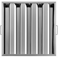 """6 Pack 20"""" x 20"""" Stainless Steel Hood Grease Commercial Exhaust Filter Baffle"""