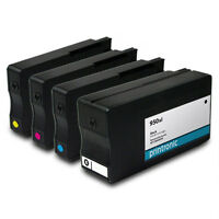 4PK Ink Cartridges HP 950xl HP 951xl for OfficeJet Pro 251dw 8600 8610 Printers