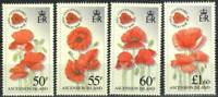 Ascension Stamp - Centenary of World War I, poppies Stamp - NH