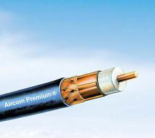 10 M AIRCOM premium Câble Coaxial 50 ohms confectionnées avec 2 x uhf (pl) - Connecteur