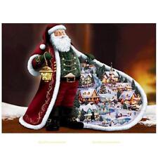 Weihnachtsmann 5D Diamant Diamond DIY Kreuzstich Stickerei Malerei Stickpackung