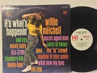 Willie Mitchell It's What's Happenin EX HI ORIG pop jazz funk 60s groovy baby!