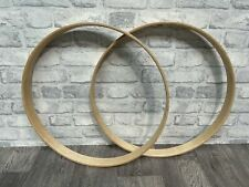 """More details for sonor bass drum 20"""" wooden hoops rims hardware tension"""