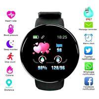 Heart Rate Blood Pressure Smart Watch Fitness Tracker Sport Bluetooth Waterproof