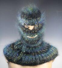 Mohair Sweater Balaclava With holes