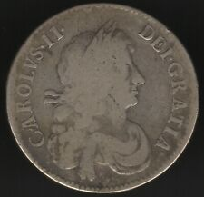 More details for 1670 charles ii silver half crown | british coins | pennies2pounds