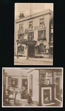 Gloucestershire Glos TEWKESBURY Hop Pole Hotel 2 c1920/30s? PPCs