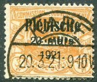 Oberschlesien Nr. 34 aus 30 - 40 gestempelt ETST KARF Mi. 25,00 € used