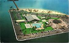 Cape Coral FL Yacht Club Postcard used 1974