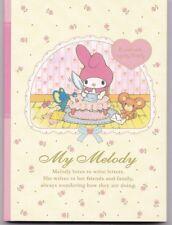 Sanrio My Melody Mini Memo Notebook White