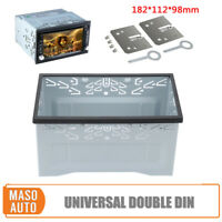 Universal Double DIN Car Stereo Radio Headunit Fitting Cage Mounting Kit