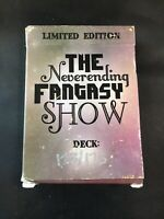 Never Ending Fantasy Show Playing Cards Deck Custom Limited Edition 123/175  474