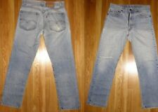 Distressed Vintage Levis Jeans Style 505 0217 33x31 Grunge Straight Leg