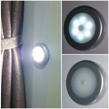 6pcs LED Body Motion Sensor Activated PIR Wall Light Smart Ultra-Thin Night Lamp