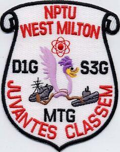 NPTU West Milton - US Navy - BC Patch - Cat No. C6093