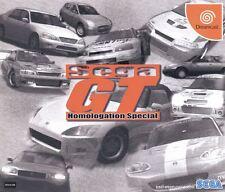 Sega Dreamcast juego-Sega GT homologation Special (con embalaje original) (jap import)