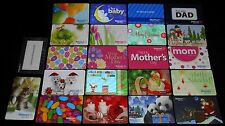 22 Collectible Gift Card WALMART Department Store Different Lot No Value <2010