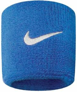 """Nike Swoosh Wristbands in Royal Blue High Absorbency - 3"""" / 7.6 cm - Pack of 2"""