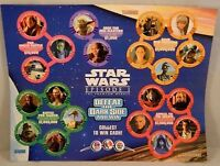 Star Wars Episode 1 The Phantom Menace KFC Pizza Hut Taco POG Game Board Promo