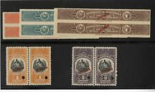 Guatemala Stamps Rare Group Of 5 Specimen